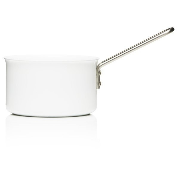 Eva Trio White Saucepan, Aluminum with Ceramic Coating