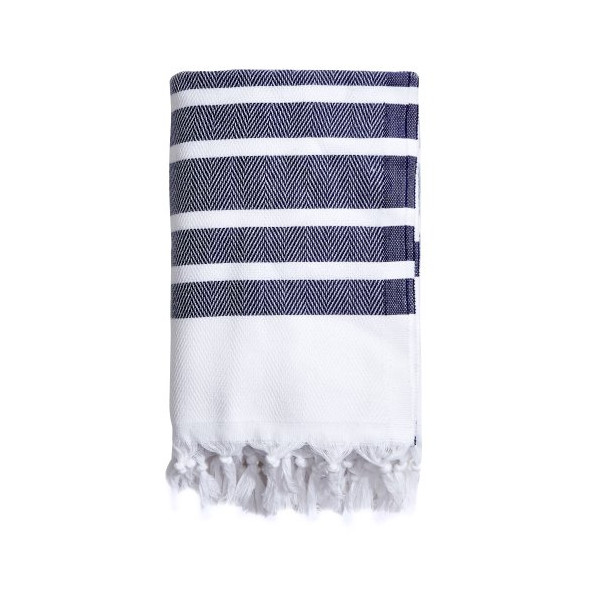 Luxe Lake Herringbone Towel