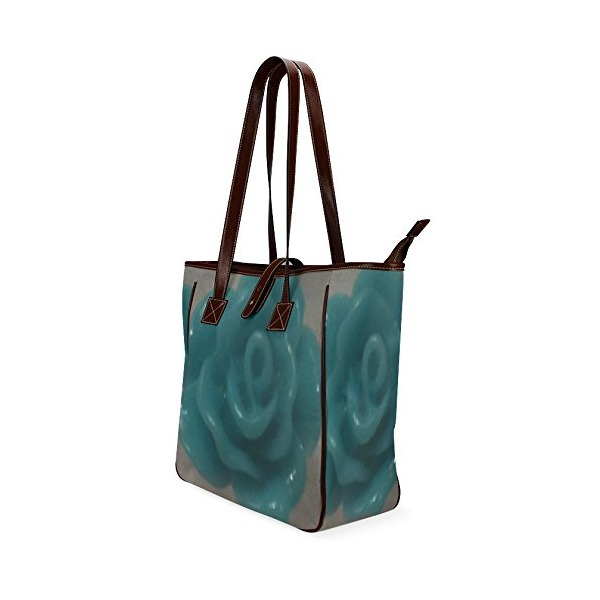 Artsdd Stylish Green Stripey Custom Tote Bag 13(Two Sides)