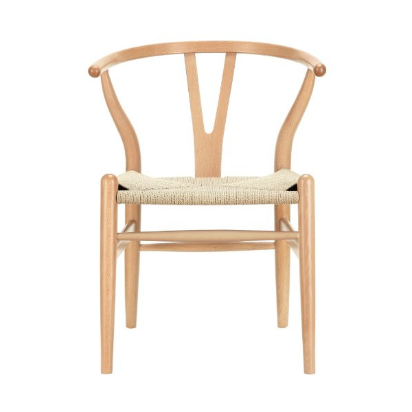 LexMod C24 Wishbone Chair in Natural