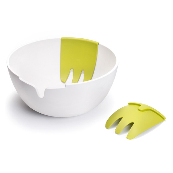Joseph Joseph Hands On Salad Set, White