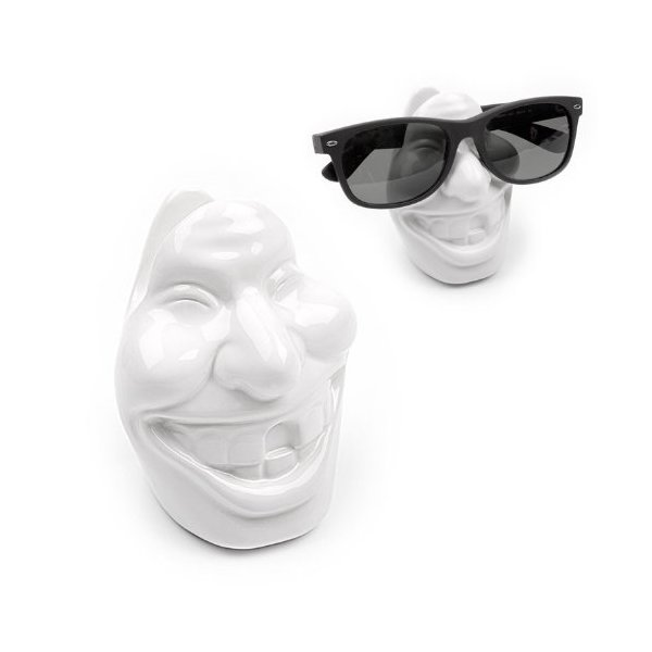 Balvi Apache Ceramic Face Glasses Holder Stand Novelty Gift