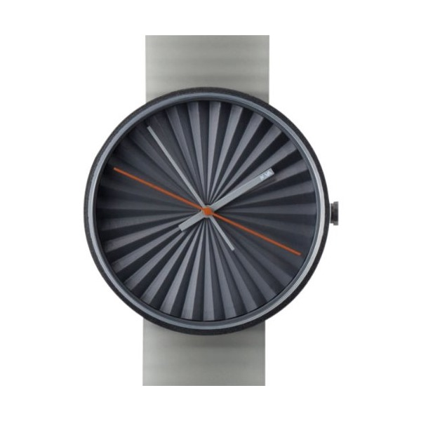 Nava Watch - Plicate - Grey