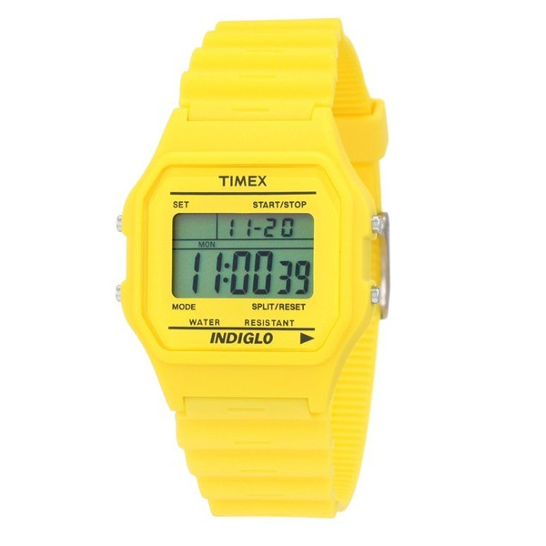 Timex Fashion Digitals Premium Yellow Watch