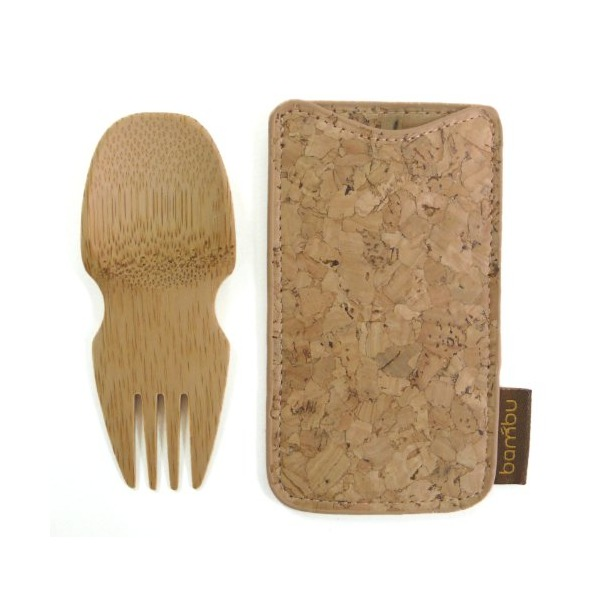 Bambu Spork and Cork