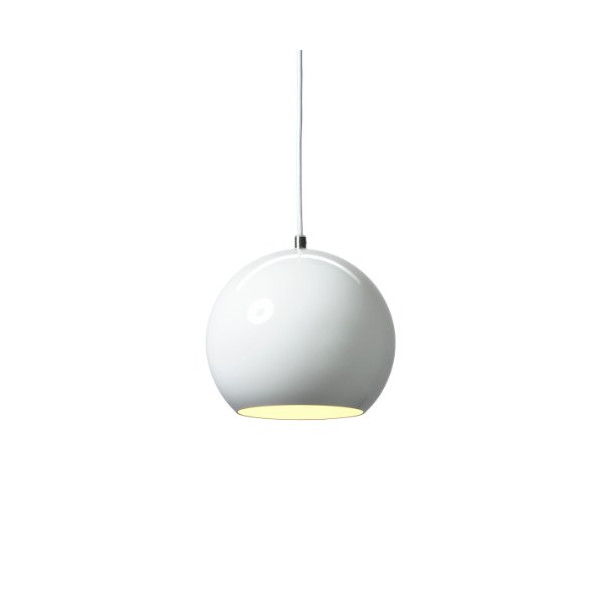 Topan Pendant Finish: White