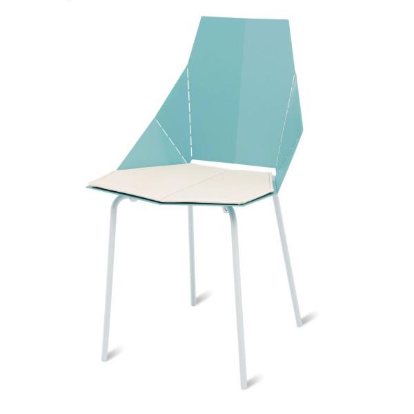 Blu Dot Real Good Chair Pad, White