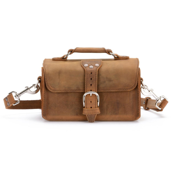 Saddleback Leather Travel Case Medium, Tobacco