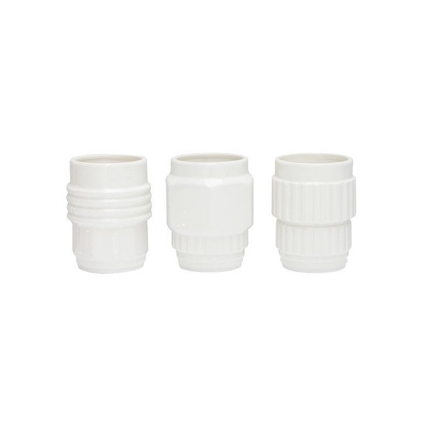 Diesel By Seletti Machine Collection Assorted Porcelain Mugs