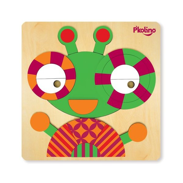 P'Kolino New Multi-Solution Souble Sided Bug Puzzle