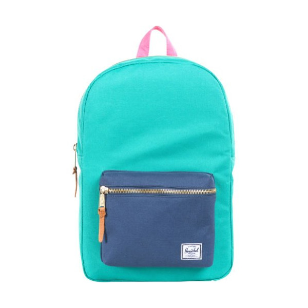 Herschel Supply Co. Settlement Mid-Volume, Pink / Khaki / Cobalt