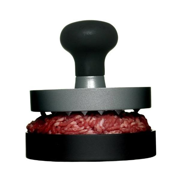 Sagaform BBQ Aluminum Single Burger Hamburger Press