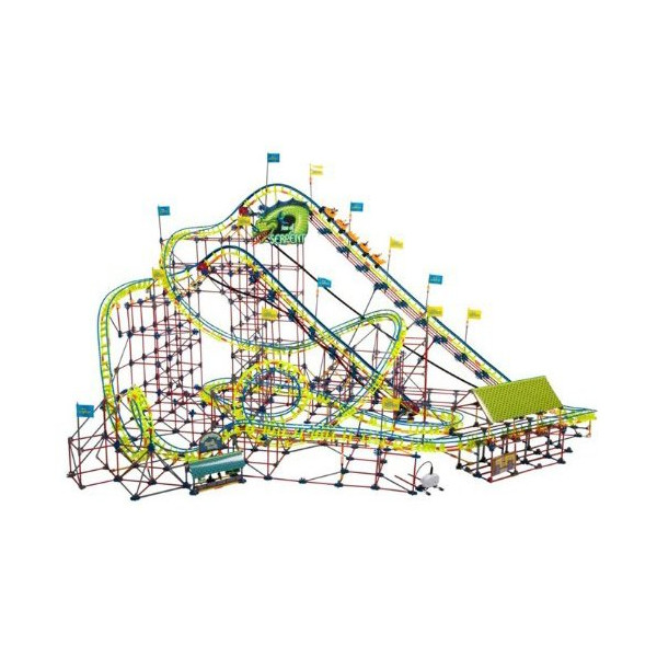 K'NEX Thrill Rides Son of Serpent Coaster