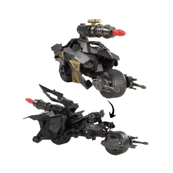 Batman the Dark Knight Rises Batpod Vehicle and Batman Action Figure