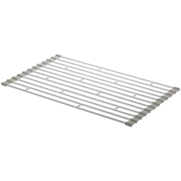 Foldable Sink Drainer, Small, White