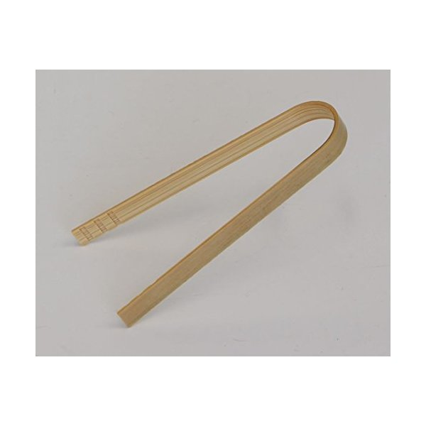 A bamboo-made tongs,35329,intricately made of bamboos produced in Japan.