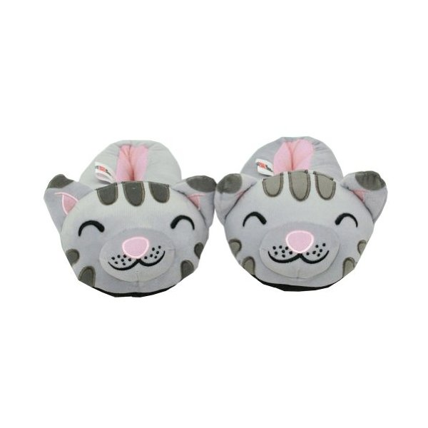 Soft Kitty - Big Bang Theory Slippers: Womens Small (5-7) - Silver