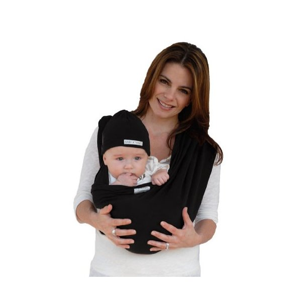 Baby K'tan ORIGINAL Baby Carrier, Black, Small