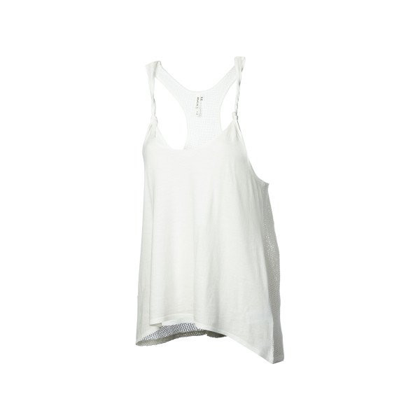 RVCA White Shadow Tank Top - Women's Vintage White, L