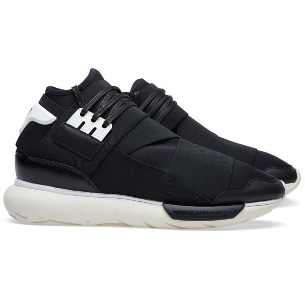 adidas Men's Y-3 QASA High Black/White