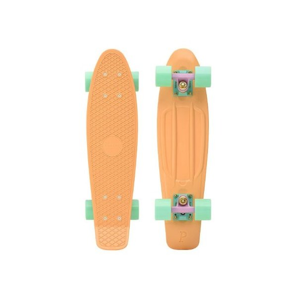 Penny Skateboard Complete 1970's Re-Issue - Pastel Peach - 22