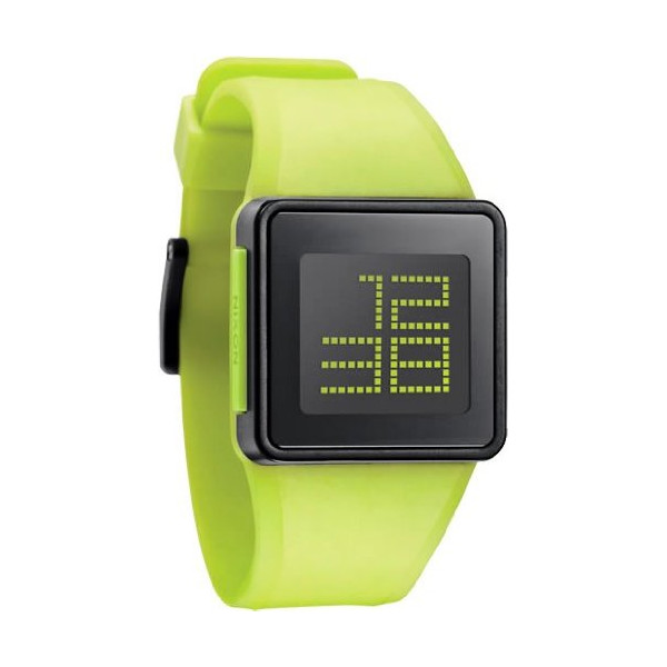 Nixon The Newton Lime Digital Unisex Watch