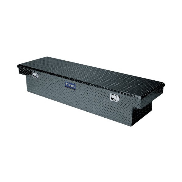 UWS TBS60ABLK Single Lid Angled Black Series Truck Box