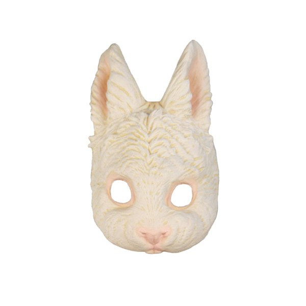 Adult Rabbit Halloween Costume Bunny Mask