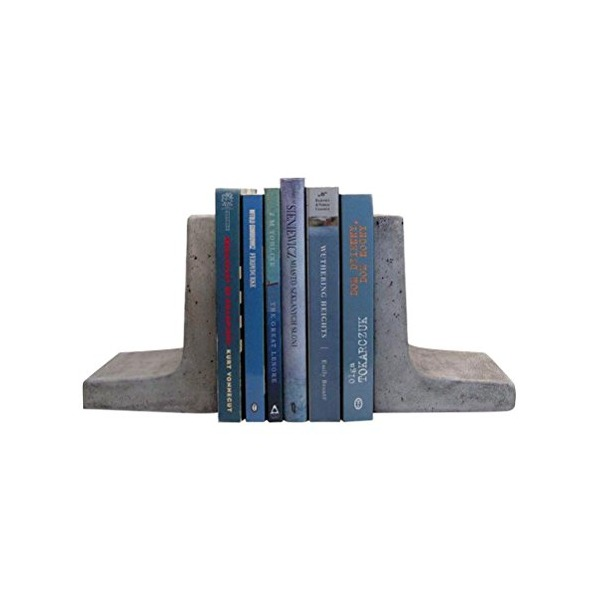 Scoutmob Home Modern Concrete Bookends One Size
