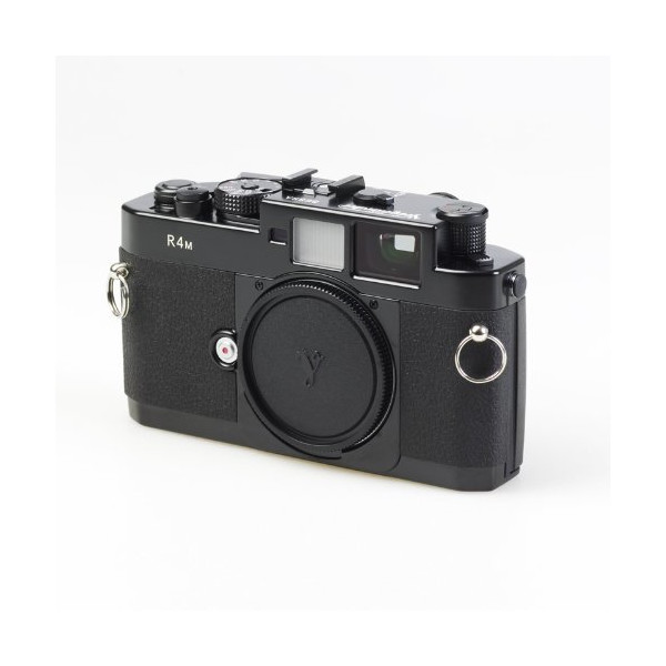 "Voigtlander Bessa R4M Wide Angle 35mm Rangefinder Manual Focus ""M"" Mount Camera Body with Mechanical Shutter - Black"
