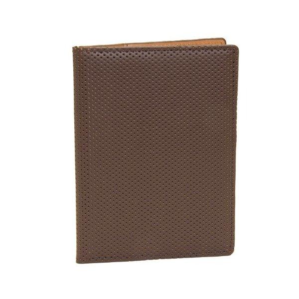 J.Fold Men's Microperf Passport Carrier, Brown, One Size