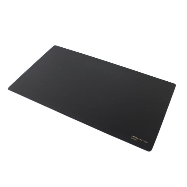 "Satechi Desk Mat & Mate 24"" x 14"" Desk Pad & Protector Mouse Pad for desktops and laptops (Black)"