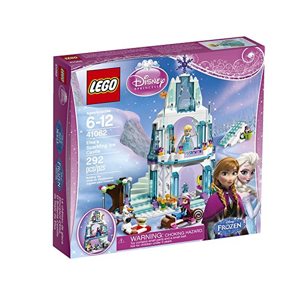 LEGO Disney Princess Elsa's Sparkling Ice Castle