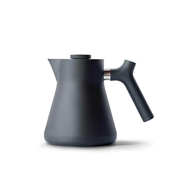 Fellow Raven Stovetop 1L Tea Kettle + Large Tea Filter (Matte Black)