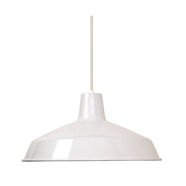 Nuvo SF76/283 Warehouse Shade, White