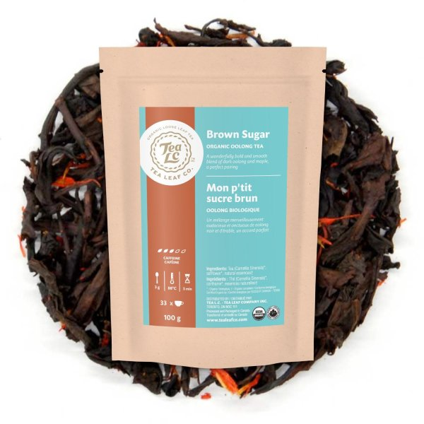 BROWN SUGAR | Organic Maple Loose Leaf Oolong Tea