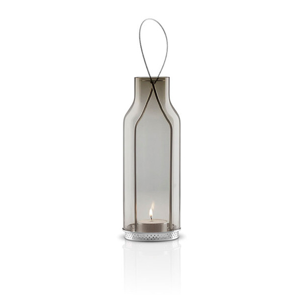 Eva Solo Glass Lantern, Smokey Grey