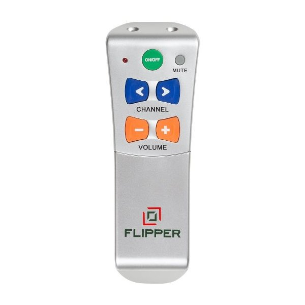 Flipper Big Button Universal Remote for 2-Devices