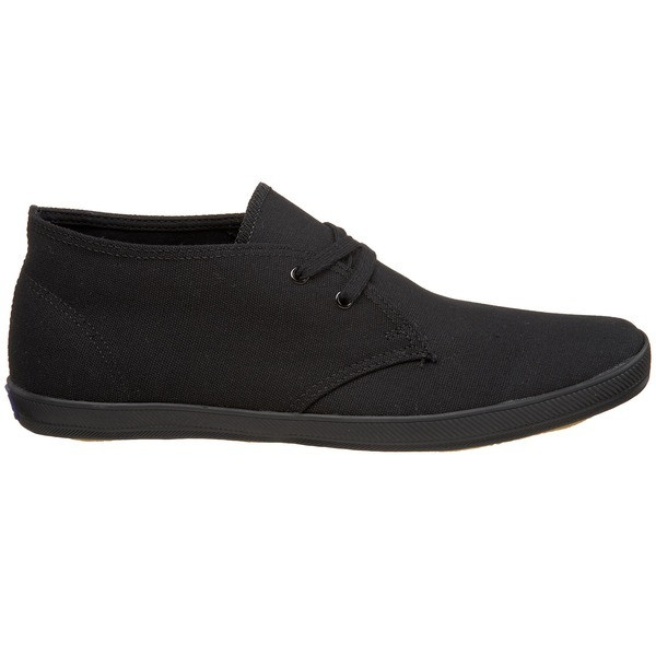 Keds Chukka Lace Up, Black on Black