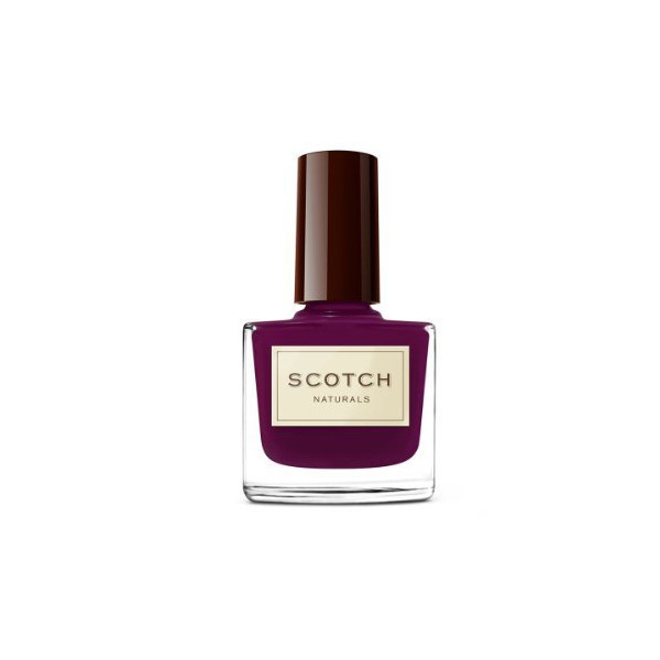 Scotch Naturals Non-Toxic Nail Polish, Velvet Kilt (deep mysterious purple creme)