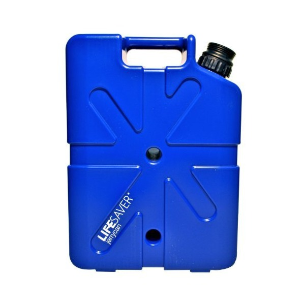 LIFESAVER Systems 20000 Liter Capacity Filtering Jerrycan, Dark Blue