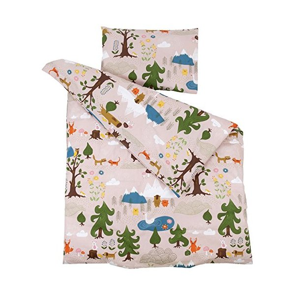 Klippan Little Bear Bedlinen - Pink