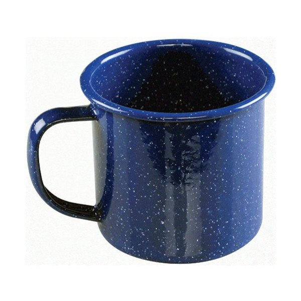 Coleman 12 Ounce Enamelware Coffee Mug (Blue)