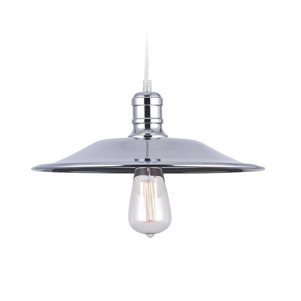 Bromi Design Astor Court 1 Light Mini Pendant, Chrome