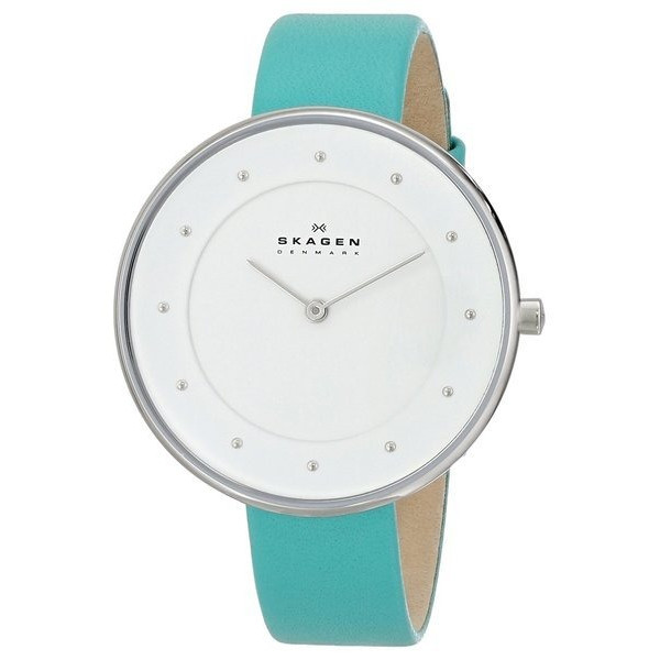 Skagen Women's Mette Quartz 2 Hand Stainless Steel Green Watch