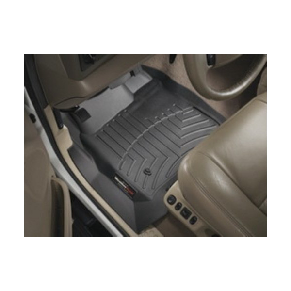WeatherTech Custom Fit Front FloorLiner for Jeep Liberty (Black)