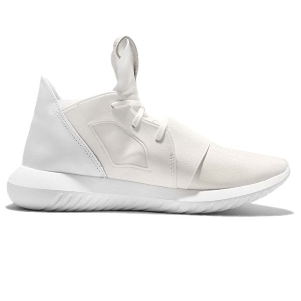 adidas Women's Tubular Defiant W, White on White