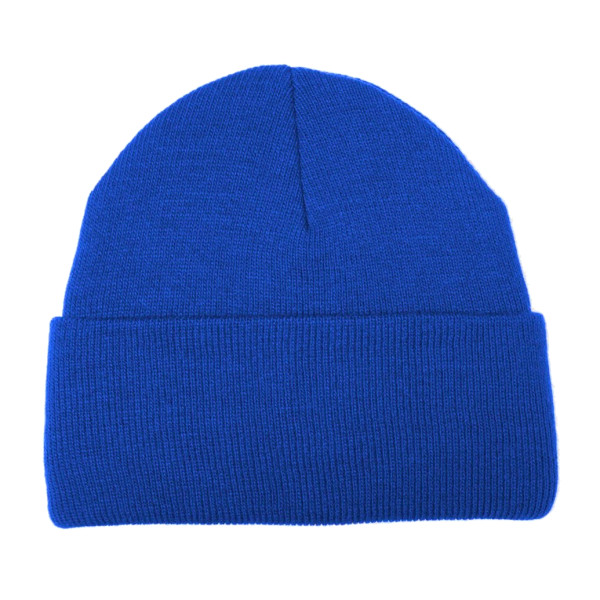 American Apparel Unisex Beanie, Royal Blue, One Size