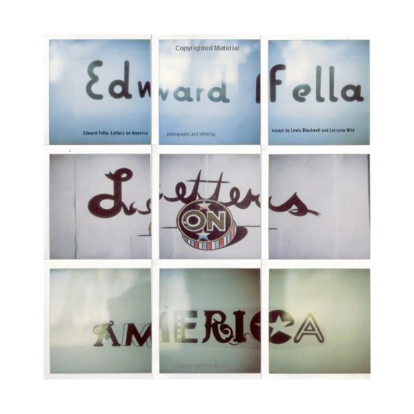 Edward Fella: Letters on America