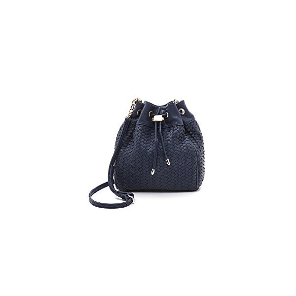 Deux Lux Women's Drawstring Bucket Bag, Navy, One Size